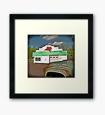 Fill'r Up Framed Art Print