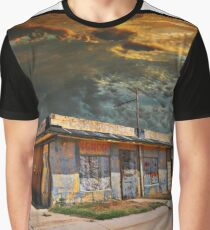 Jackson Mississippi Sky looms over McLean Texas Graphic T-Shirt