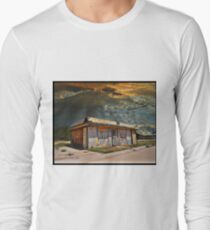 Jackson Mississippi Sky looms over McLean Texas Long Sleeve T-Shirt