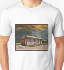Jackson Mississippi Sky looms over McLean Texas Slim Fit T-Shirt