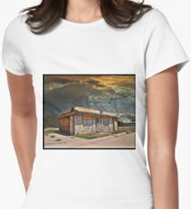 Jackson Mississippi Sky looms over McLean Texas Women's Fitted T-Shirt