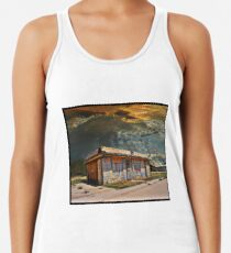 Jackson Mississippi Sky looms over McLean Texas Women's Tank Top