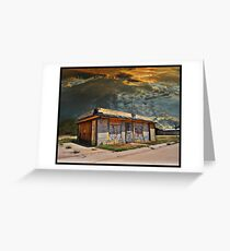 Jackson Mississippi Sky looms over McLean Texas Greeting Card