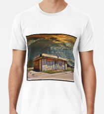 Jackson Mississippi Sky looms over McLean Texas Men's Premium T-Shirt