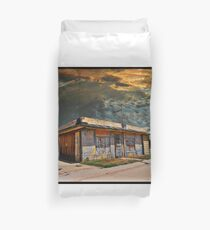 Jackson Mississippi Sky looms over McLean Texas Duvet Cover