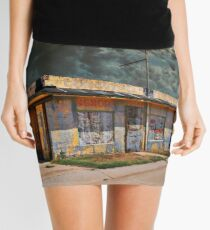 Jackson Mississippi Sky looms over McLean Texas Mini Skirt