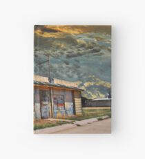 Jackson Mississippi Sky looms over McLean Texas Hardcover Journal