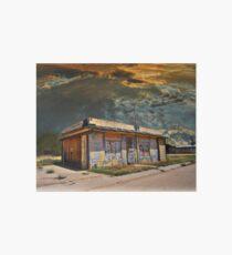 Jackson Mississippi Sky looms over McLean Texas Art Board Print