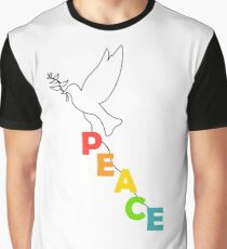 pigeon dove world peace Graphic T-Shirt