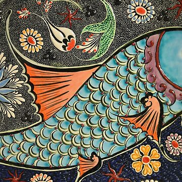 Mosaic fish ceramics by vodanet