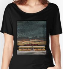 Vicksburg Mississippi Sky over the Highland Park Diner, Rochester Women's Relaxed Fit T-Shirt