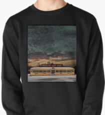 Vicksburg Mississippi Sky over the Highland Park Diner, Rochester Pullover Sweatshirt