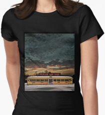 Vicksburg Mississippi Sky over the Highland Park Diner, Rochester Fitted T-Shirt