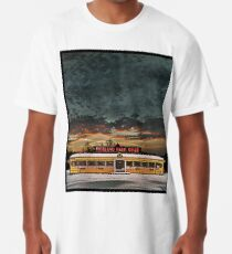 Vicksburg Mississippi Sky over the Highland Park Diner, Rochester Long T-Shirt