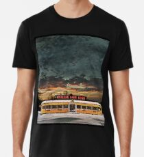 Vicksburg Mississippi Sky over the Highland Park Diner, Rochester Men's Premium T-Shirt