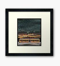 Vicksburg Mississippi Sky over the Highland Park Diner, Rochester Framed Print