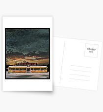 Vicksburg Mississippi Sky over the Highland Park Diner, Rochester Postcards