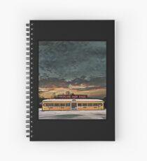 Vicksburg Mississippi Sky over the Highland Park Diner, Rochester Spiral Notebook