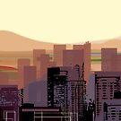 Phoenix Skyline by Charles Harker