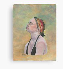 FOUR EARRINGS/Oil on canvas Canvas Print