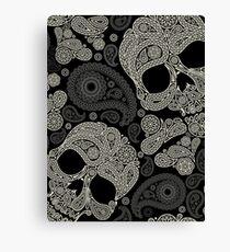 Life's true face is the skull Canvas Print