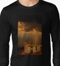 Charlie's Radiator Service, Milan, New Mexico Long Sleeve T-Shirt