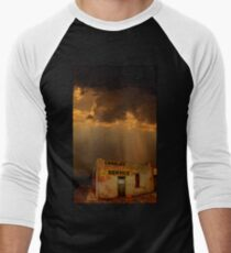Charlie's Radiator Service, Milan, New Mexico Men's Baseball ¾ T-Shirt