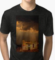 Charlie's Radiator Service, Milan, New Mexico Tri-blend T-Shirt