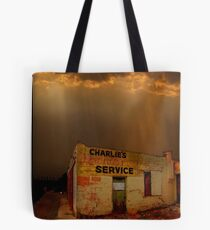 Charlie's Radiator Service, Milan, New Mexico Tote Bag