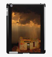 Charlie's Radiator Service, Milan, New Mexico iPad Case/Skin