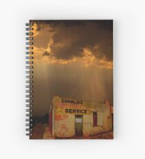 Charlie's Radiator Service, Milan, New Mexico Spiral Notebook