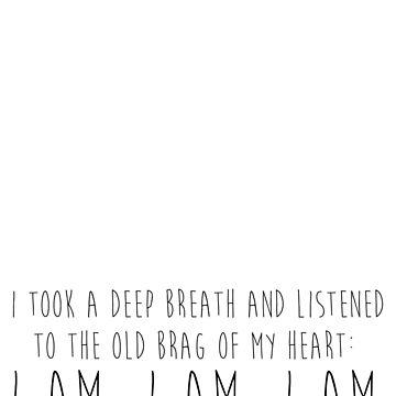 I am, I am, I am. by fabricate