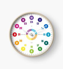 Educational watch for children in minimal design © hatgirl.de (watch, for children, minimal design) Clock