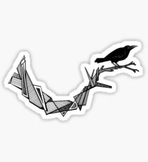 CROW OUT OF GEO Sticker