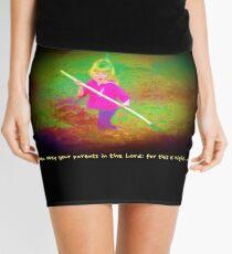 Ephesians 6 1 Mini Skirt