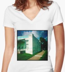 Denver, Colorado Fitted V-Neck T-Shirt
