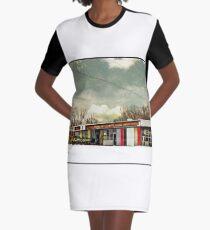I-90 2-27-08 7:44 AM NEW YORK Graphic T-Shirt Dress