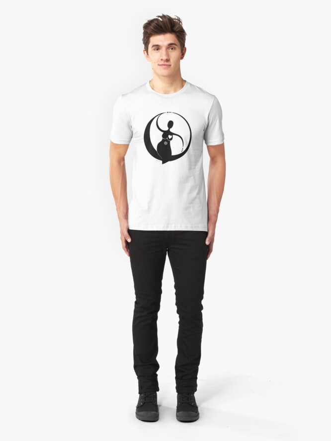Alternate view of The Female Circle Tee Slim Fit T-Shirt