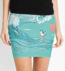 surfing zebra Mini Skirt