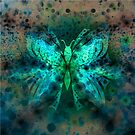 Butterfly Abstract G541 by MEDUSA GraphicART