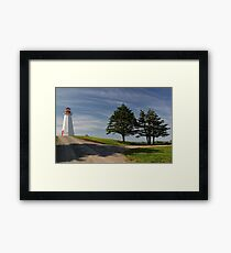 Cape George Lighthouse, Cape George, Nova Scotia Framed Print