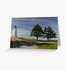 Cape George Lighthouse, Cape George, Nova Scotia Greeting Card