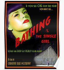 Bathing & the Single Girl Poster  Poster