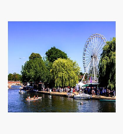 River festival. Photographic Print