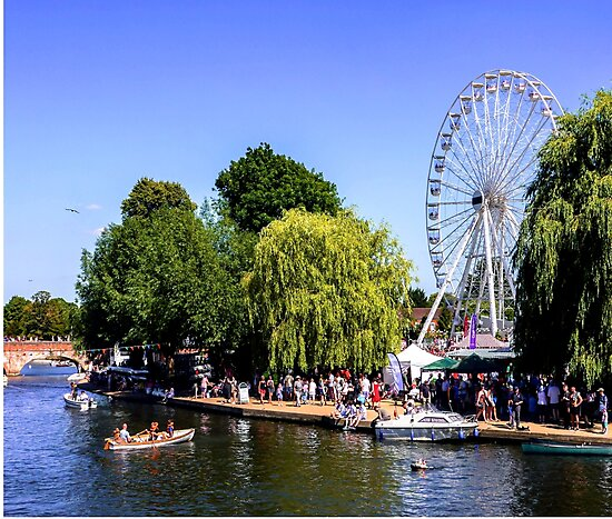 River festival. by ScenicViewPics