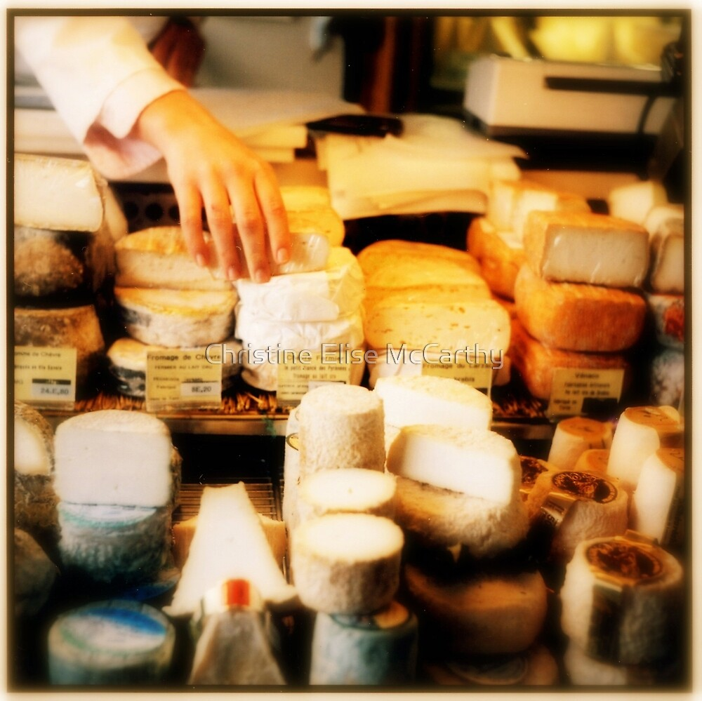 Fromage, Montmartre by Christine Elise McCarthy