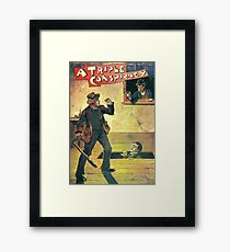 Pulp Fiction Novel Cover Framed Print