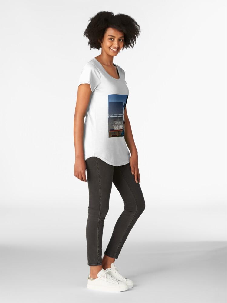 Alternate view of Heavenly Advertising Premium Scoop T-Shirt