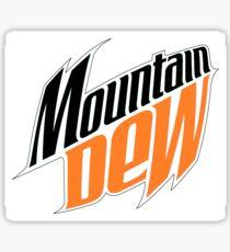 Old Mountain Dew Logo Sticker
