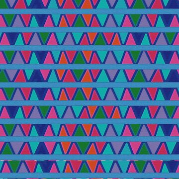 Colorful Triangles  by Greenbaby